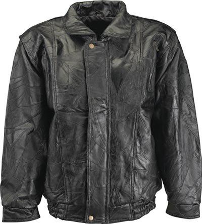 L Men's Genuine Lambskin Leather Coat
