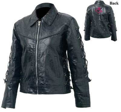 LG Ladies Buffalo Leather Jacket