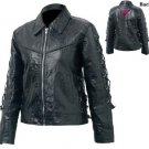 LG Ladies Buffalo Leather Jacket
