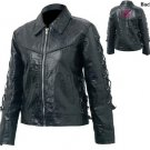M Ladies' Buffalo Leather Jacket