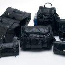 7PC Leather Motorcycle Luggage Set