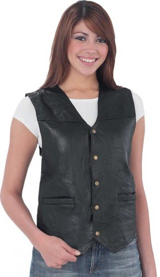 M Ladies' Patched Vest
