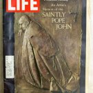 LIFE Magazine October 11, 1968 Saintly Pope John Coca-Cola AD FREE SHIPPING