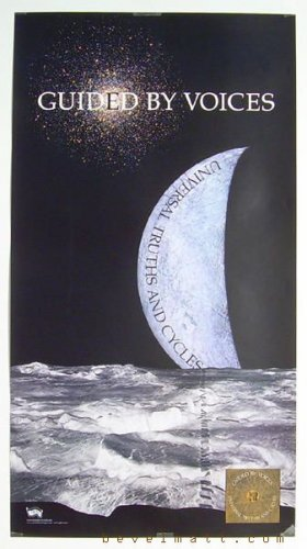 Guided By Voices 'UNIVERSAL TRUTHS' MINT Promotional Poster FREE SHIPPING