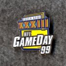 SUPER BOWL XXXIII NFL GameDay 99 Collector Pin NFLP Free Shipping