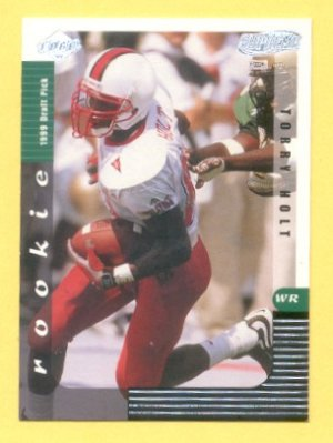 1999 CE Supreme Torry Holt RC Rams