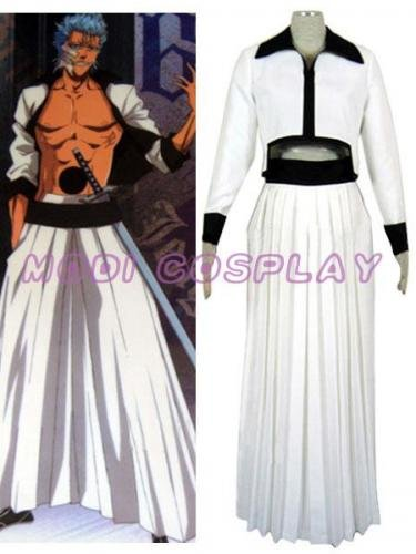 Bleach Grimmjow Cosplay Costume, all size