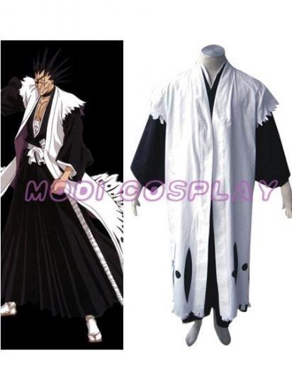 Bleach Zaraki Kenpachi Anime Cosplay costume,all size