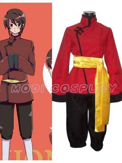 Axis Powers Hetalia Hongkong Cosplay Costume,all size