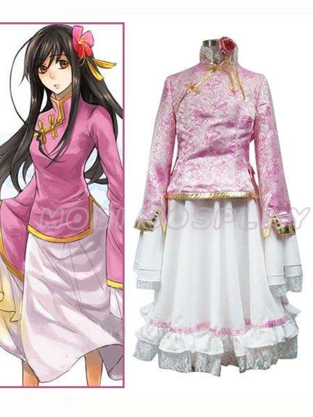 Axis Powers Hetalia Taiwan Cosplay Costume,all size
