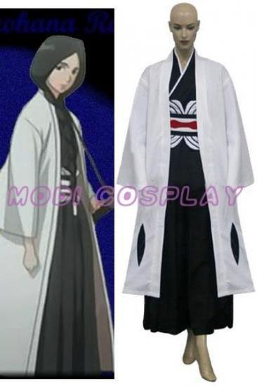Bleach 4th Division Unohana Retsu Cosplay Costume, all size