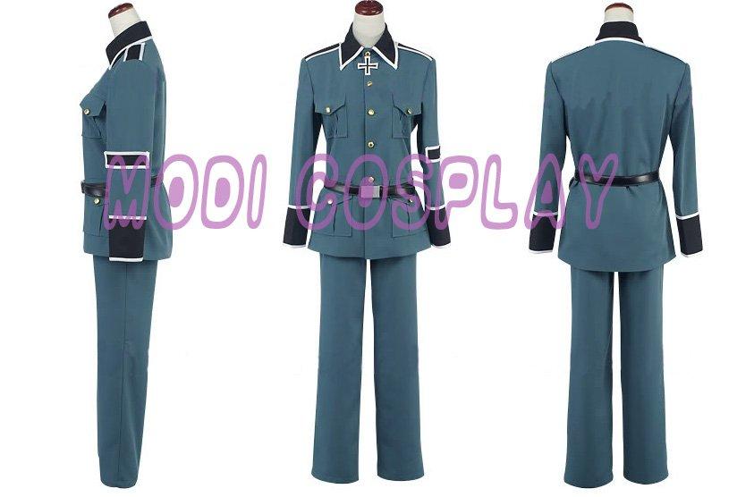 Axis Powers Hetalia Germany Cosplay Costume,all size