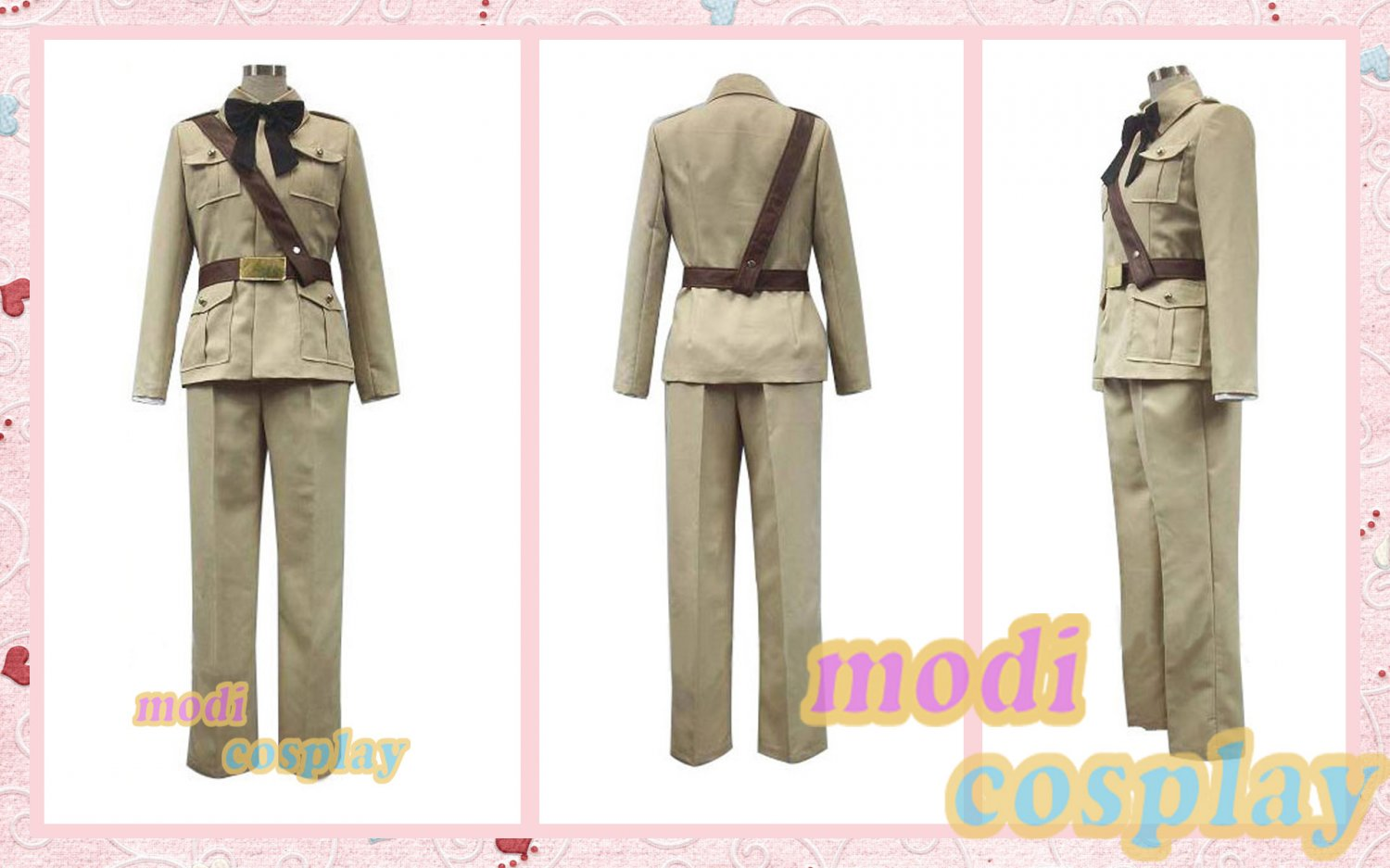 Axis Powers Hetalia Spain Suit Cosplay Costume