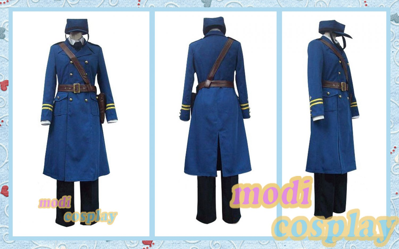 Axis Powers Hetalia sweden anime cosplay all size