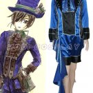Black Butler Costume Kuroshitsuji Ciel Cosplay Costume