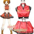 Vocaloid2 Meiko Anime Cosplay Costume,all size