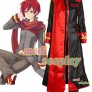 Vocaloid Akaito Anime Cosplay Costume, all size