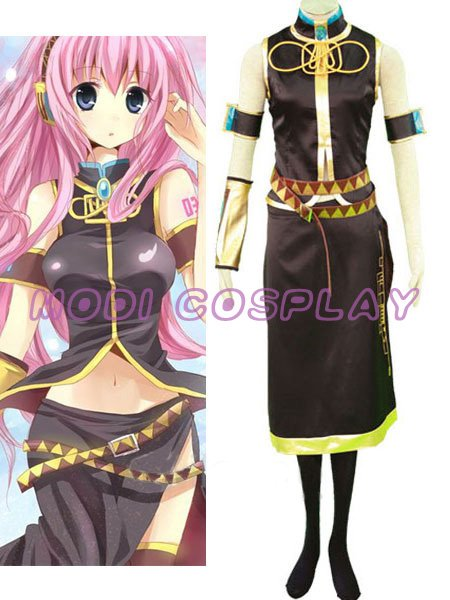 Vocaloid Megurine Luka Cosplay Costume,all size