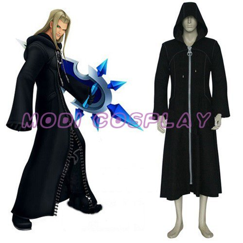 Kingdom Hearts Organization XIII Anime Cosplay Costume