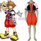 Kingdom Hearts Sora Anime Cosplay Costume,all size