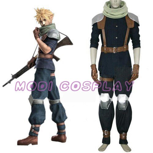Final Fantasy VII Crisis Core Cloud Strife Cosplay NEW