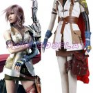 Final Fantasy XIII Lightning Cosplay Costume,all size