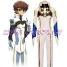 "Code Geass R2 ""Suzaku"" pilot cosplay costume"