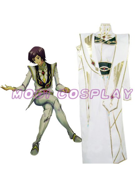 Code Geass Emperor Lelouch Rebellion Cosplay Costume