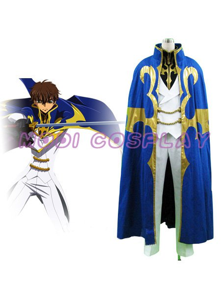 Code Geass R2 SUZAKU Cosplay Costume