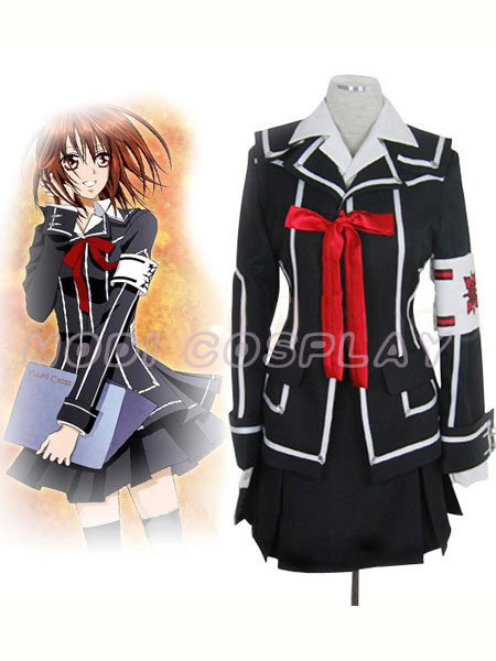 VAMPIRE KNIGHT Costume Cosplay Yuki Kurosu Cross BLACK