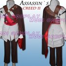 Assassin's Creed II Ezio Anime Cosplay Costume,all size