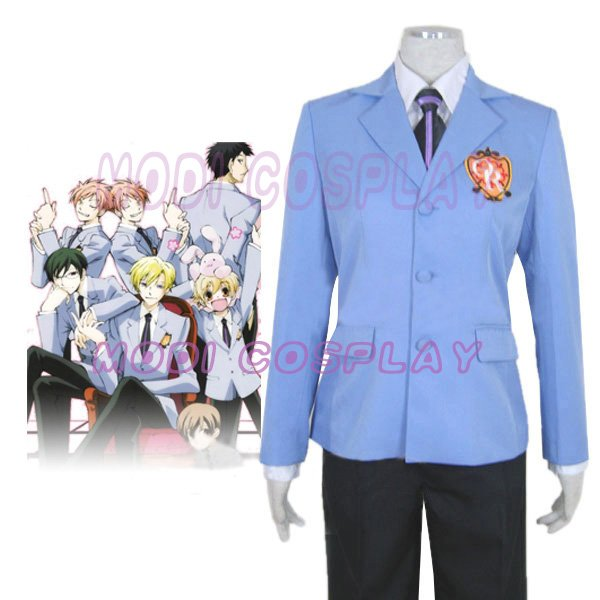Ouran High School Host Club Anime Cosplay Costume