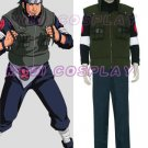 Naruto Asuma Sarutobi Anime Cosplay,all size