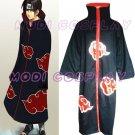 Naruto Akatsuki Itachi Uchiha Deluxe Cosplay Costume