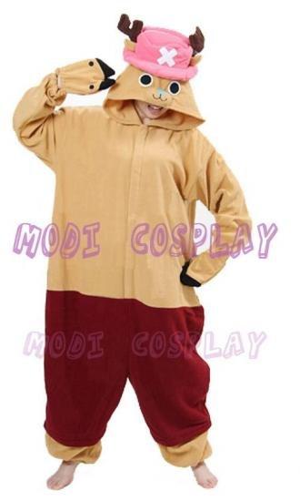 One Piece Tony Chopper Kigu Pajiams Cosplay Costume