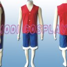 One Piece Monkey D Luffy cosplay costume, all size