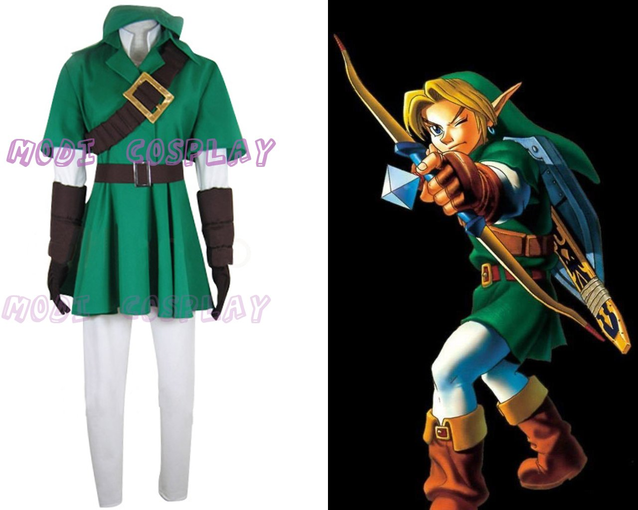 The Legend of Zelda Link Cosplay Costume£¬all size