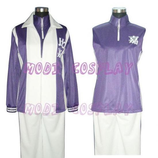 The Prince of Tennis Higa Anime Cosplay Costume,NEW
