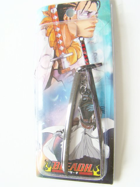 Bleach Sword Keychain Anime Cosplay Costume 2