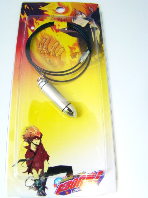 Bullet Anime Cosplay Accessory NecklaceDSC08814