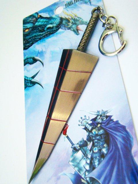 Final Fantasy Game Anime Sword Keychain High Quanlity F02-3 -