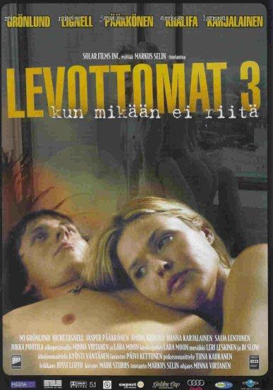 Levottomat 3 DVD Widescreen (2004) All Regions Pal