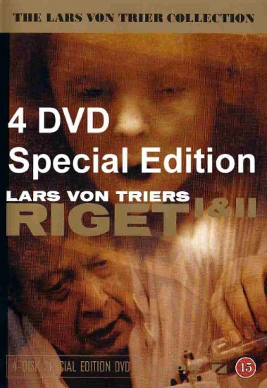 Rigit I & II The Kingdom 4 DVD Special Edition Lars Von Trier Region 2 PAL