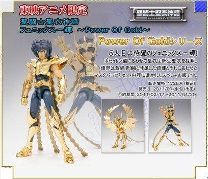 Saint Seiya Cloth Myth Power of Gold Phoenia Ikki V2 Collection Action Figure