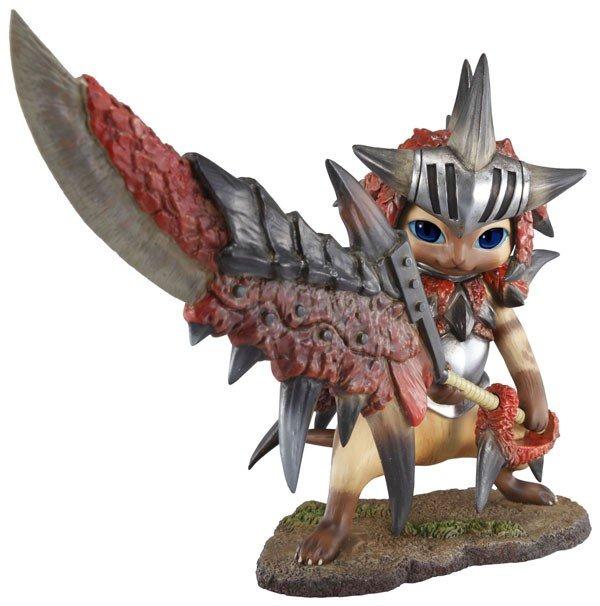 Monster Hunter Portable 3 Otomo Airou Collection Figure