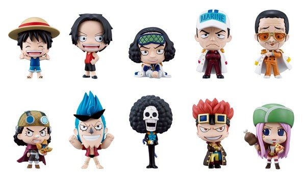 One Piece Deformaster Petit Vol.3 Box Set of 10 Collection Figure