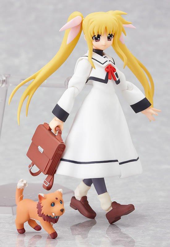Figma 062 Magical Girl Lyrical Nanoha A's Fate Testatossa Uniform Vers. Collection Action Figure