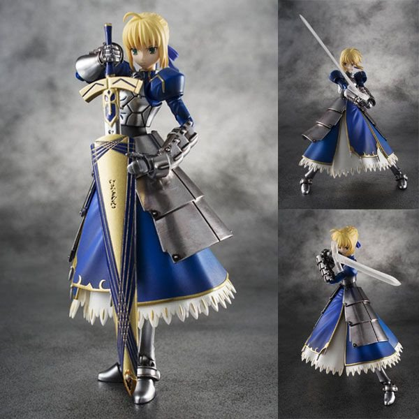 Bandai Fate Zero Chogokin Saber Action Figure