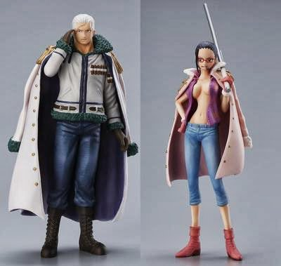 One Piece Super Styling Smoker Shambles & Tashigi Shambles Collection Figure