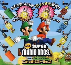 Nintendo Mario Galaxy Strap Gashspon Figure Switch Wii